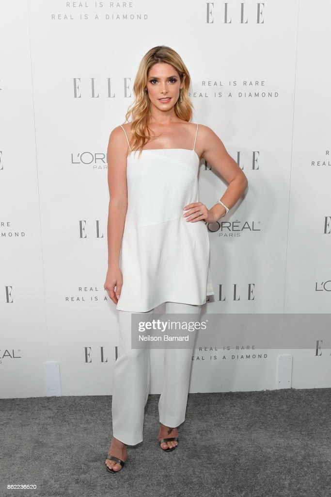 Ashley Greene attends ELLE's 24th Annual Women in Hollywood Celebration presented by L'Oreal Paris, Real Is Rare, Real Is A Diamond and CALVIN KLEIN at Four Seasons Hotel Los Angeles at Beverly Hills on October 16, 2017 in Los Angeles, California.