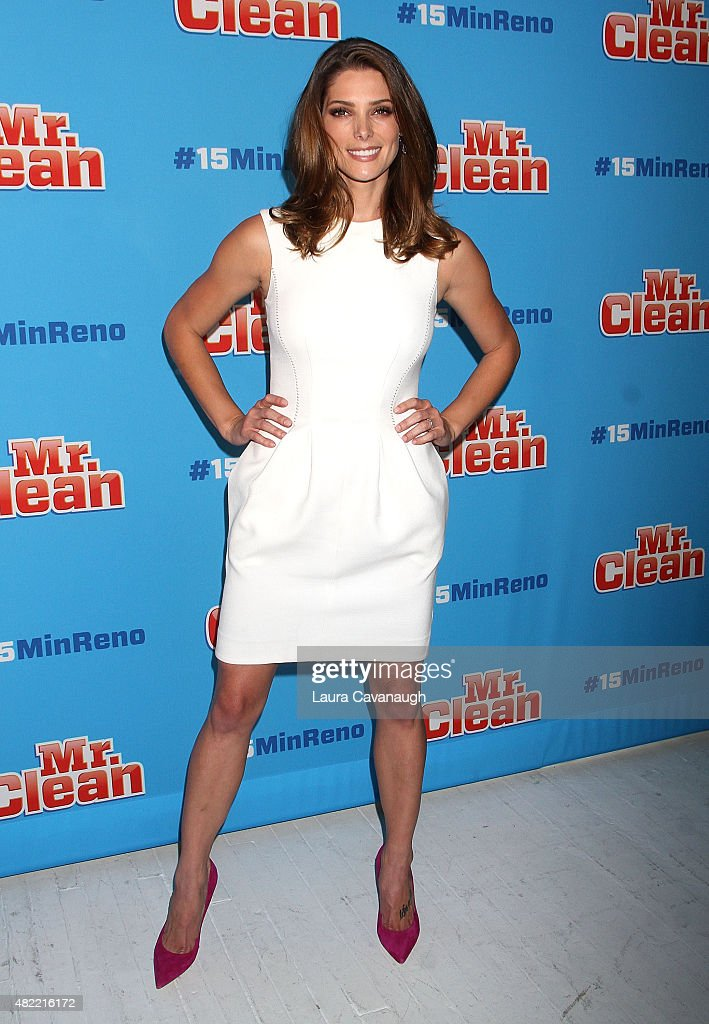 Ashley Greene attends Ideas With Mr Clean at 24th Street Loft on July 28 2015 in New York City