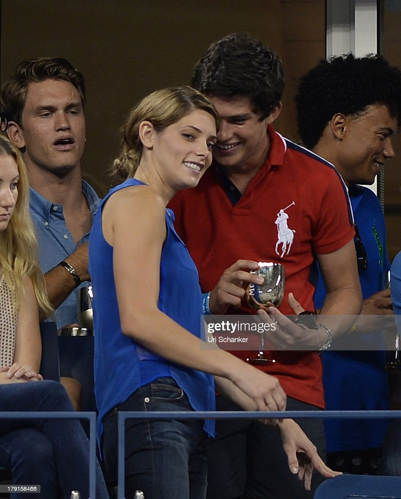<a gi-track='captionPersonalityLinkClicked' href=/galleries/search?phrase=Ashley+Greene&family=editorial&specificpeople=781552 ng-click='$event.stopPropagation()'>Ashley Greene</a> attends the 2013 US Open at USTA Billie Jean King National Tennis Center on August 31, 2013 in New York City.