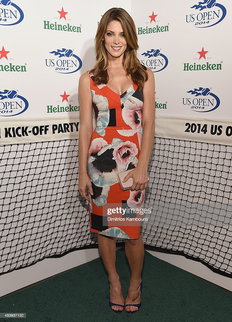 Ashley Greene attends the 2014 Heineken US Open Kick Off Party at PHD Rooftop Lounge at Dream Downtown on August 21 2014 in New York City