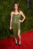 Ashley Greene attends the 2015 Tony Awards at Radio City Music Hall on June 7 2015 in New York City