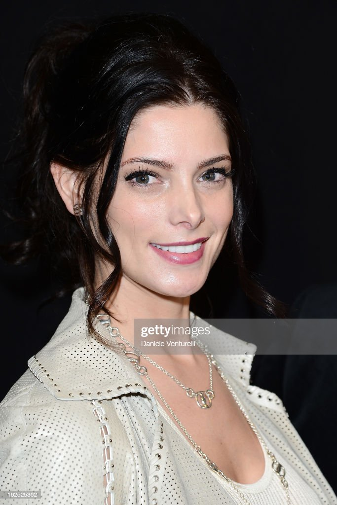 <a gi-track='captionPersonalityLinkClicked' href=/galleries/search?phrase=Ashley+Greene&family=editorial&specificpeople=781552 ng-click='$event.stopPropagation()'>Ashley Greene</a> attends the Salvatore Ferragamo fashion show as part of Milan Fashion Week Womenswear Fall/Winter 2013/14 on February 24, 2013 in Milan, Italy.