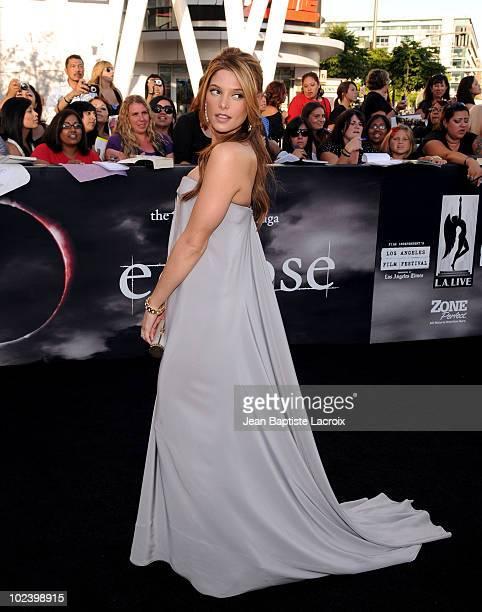 Ashley Greene attends 'The Twilight Saga Eclipse' Los Angeles Premiere at Nokia Theatre LA Live on June 24 2010 in Los Angeles California
