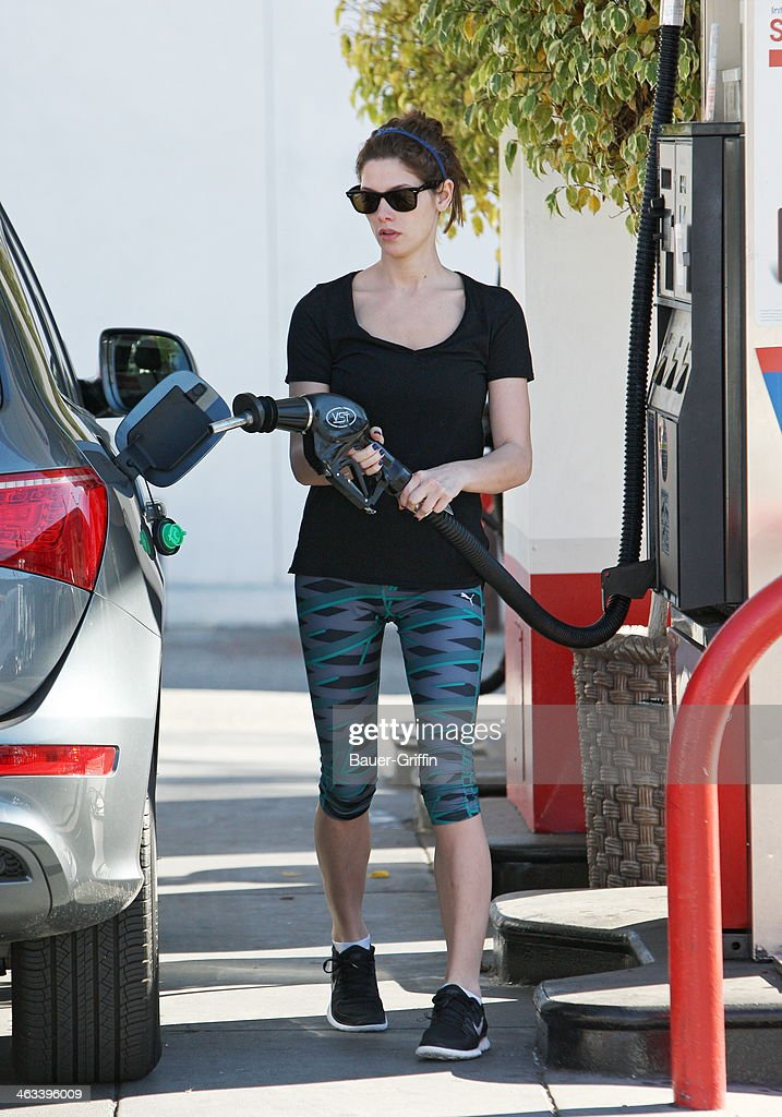 Ashley Greene is seen on January 17, 2014 in Los Angeles, California.