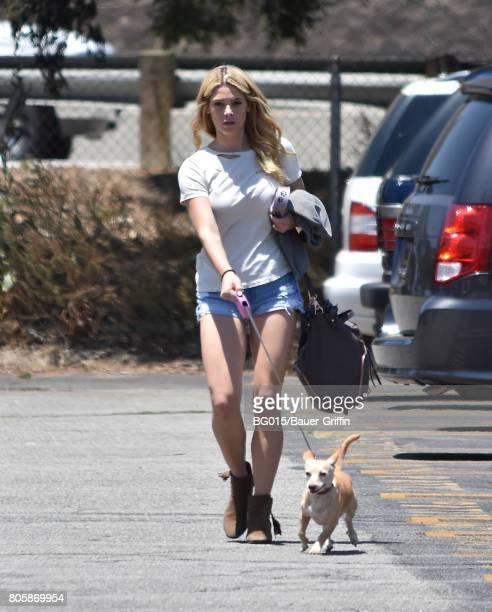 Ashley Greene is seen on July 02 2017 in Los Angeles California