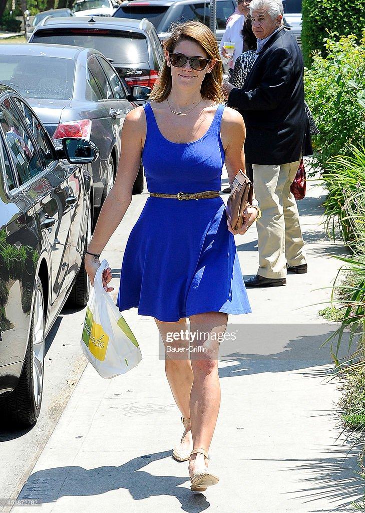 Ashley Greene is seen on July 08 2014 in Los Angeles California