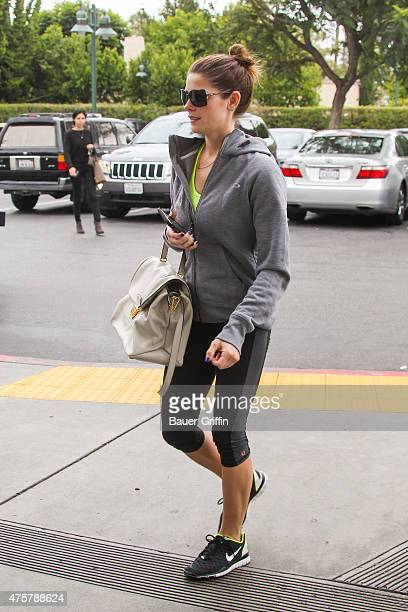 Ashley Greene is seen shopping at Bristol Farms on June 03 2015 in Los Angeles California