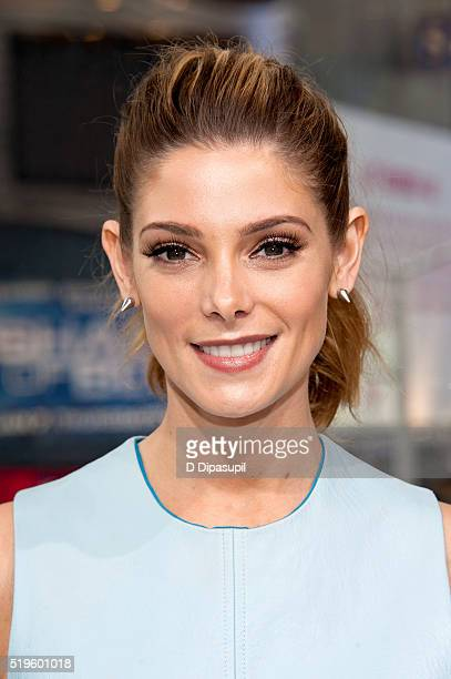 Ashley Greene visits 'Extra' at their New York studios at HM in Times Square on April 7 2016 in New York City