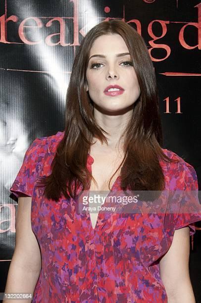 Ashley Greene walks the red carpet at 'The Twilight Saga Breaking Dawn Part 1' Tour at The Fillmore on November 10 2011 in San Francisco California