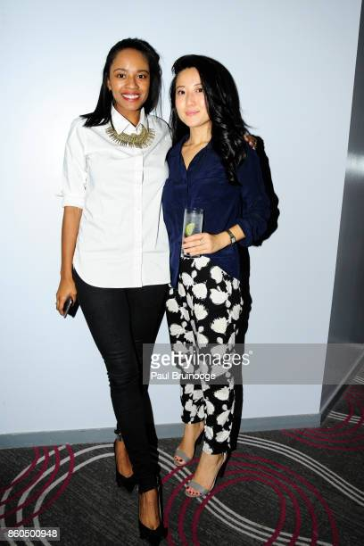 Ashley Harris and Annie Wang attend the Decoration and Design Building celebrates the 2017 winners of the DDB's 10th Anniversary of Stars of Design...
