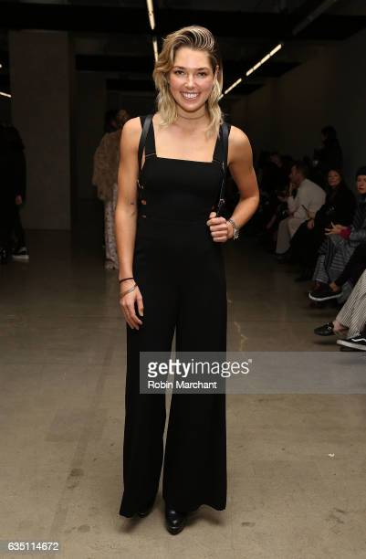 Ashley Hart attends Zimmermann during New York Fashion Week on February 13 2017 in New York City