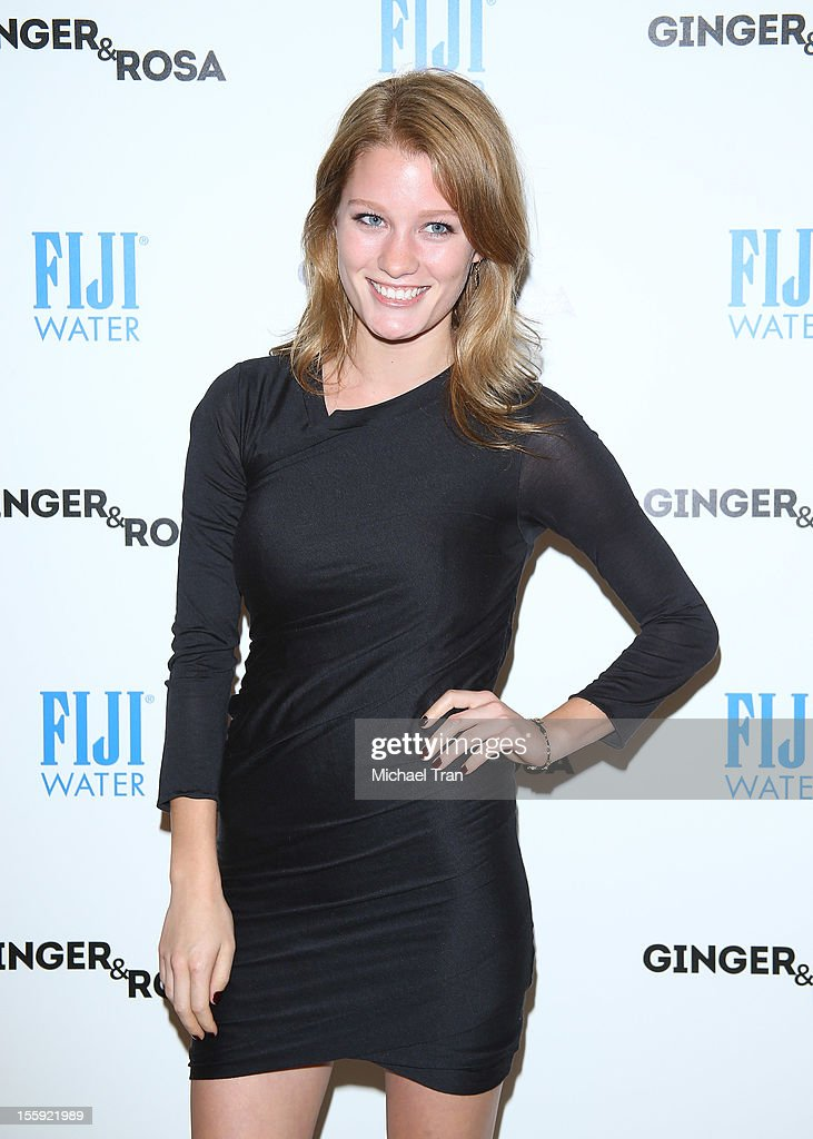 Ashley Hinshaw arrives at the Los Angeles special screening of 'Ginger & Rosa' held at The Paley Center for Media on November 8, 2012 in Beverly Hills, California.