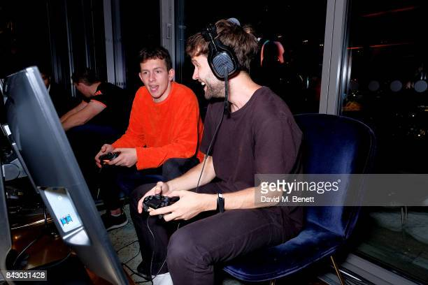 Ashley Horne attends the Destiny 2 launch event on PlayStation 4 Available from Wednesday 6th September 2017 #Destiny2 at Mondrian Hotel on September...