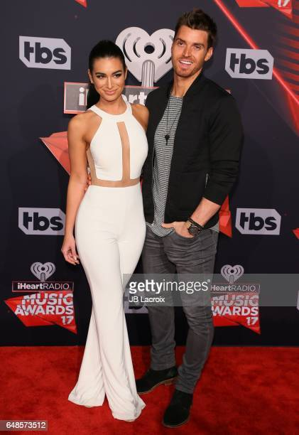 Ashley Iaconetti and Luke Pell attend the 2017 iHeartRadio Music Awards at The Forum on March 5 2017 in Inglewood California