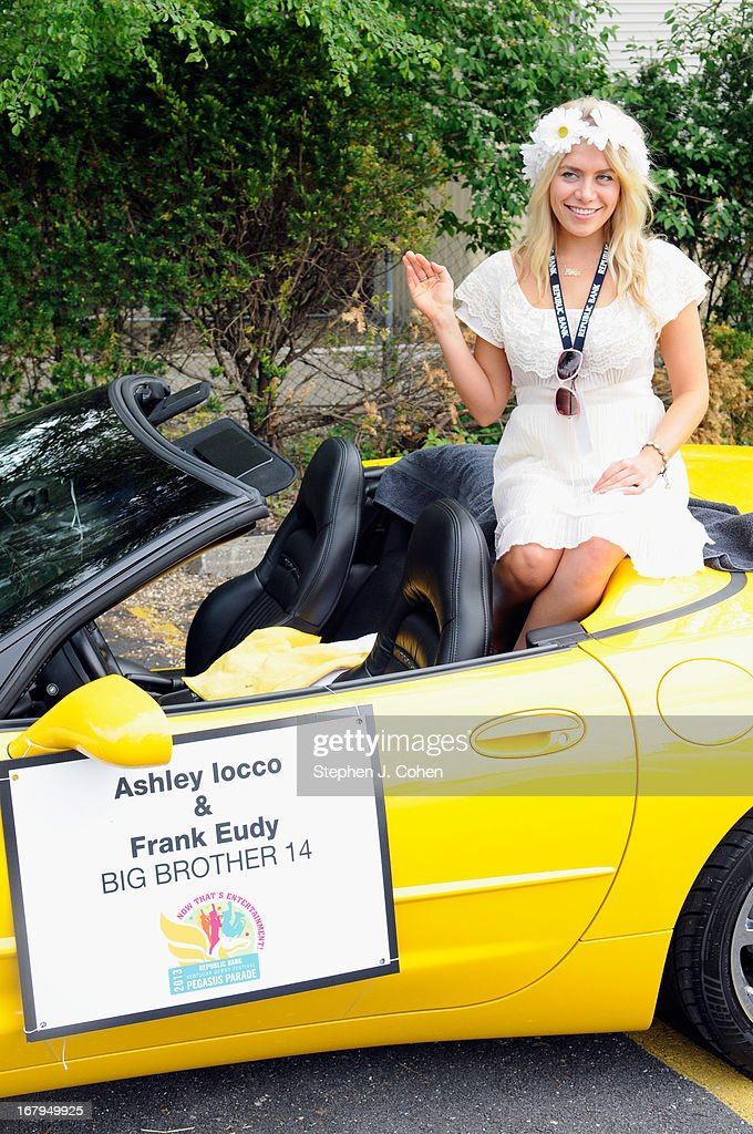 Ashley Iocco attends Kentucky Derby Festival Pegasus Parade staging area at Louisville Stoneware on May 2, 2013 in Louisville, Kentucky.