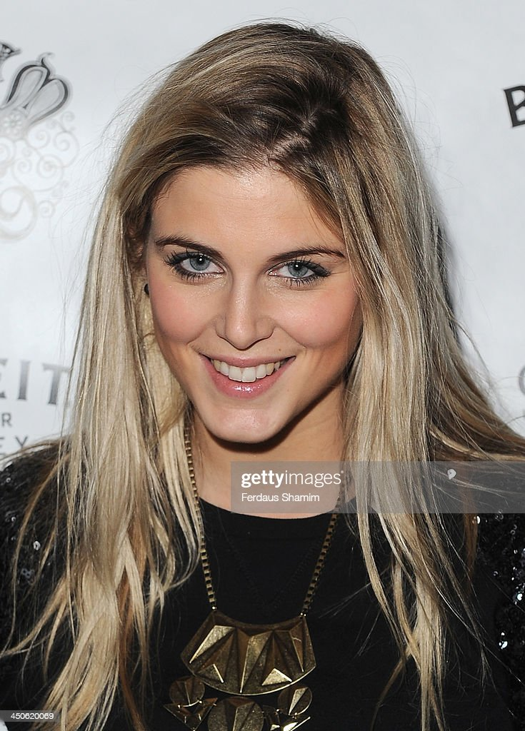Ashley James arrives for the 'Steam and Rye' resturent launch party on November 19, 2013 in London, United Kingdom.