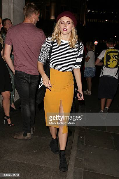 Ashley James attending the Lady Garden event at Top Shop Oxford Circus on September 8 2016 in London England