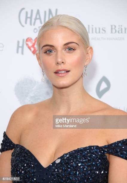 Ashley James attends the Chain Of Hope Gala Ball held at Grosvenor House on November 17 2017 in London England