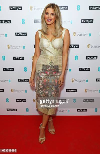 Ashley James attends the InStyle EE Rising Star Party ahead of the EE BAFTA Awards at The Ivy Soho Brasserie on February 1 2017 in London England