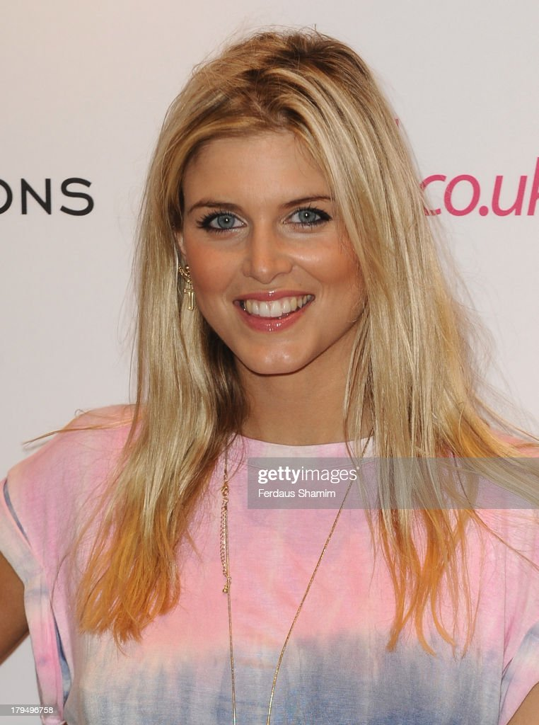 Ashley James attends the launch party of very.co.uk's Definitions range at Somerset House on September 4, 2013 in London, England.