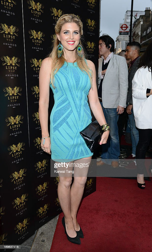 Ashley James attends the Lipsy VIP Fashion Awards 2013 at DSTRKT on May 29, 2013 in London, England.