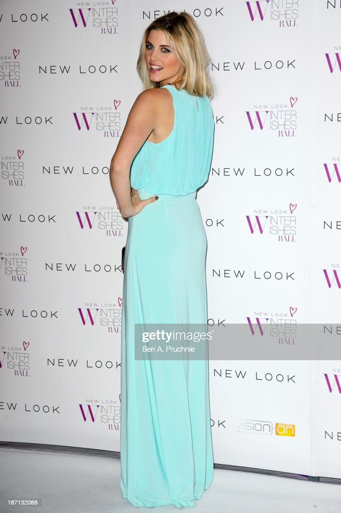 Ashley James attends the New Look Winter Wishes Charity Ball at Battersea Evolution on November 6, 2013 in London, England.