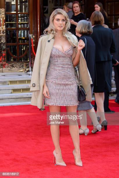 Ashley James attends the Prince's Trust Celebrate Success Awards on March 15 2017 in London England