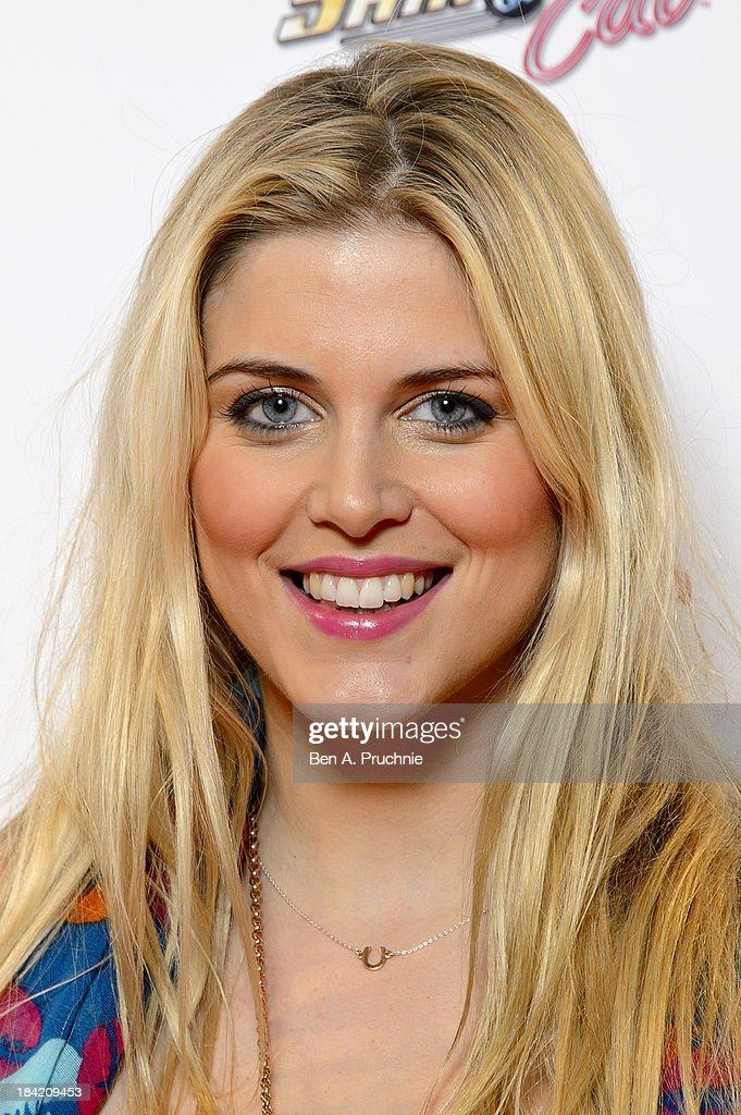 Ashley James attends the UK Premiere of Sam & Cat at Cineworld 02 Arena on October 12, 2013 in London, England.
