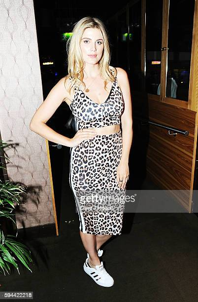 Ashley James attends the world premiere after party of 'BrOTHERHOOD' at on August 23 2016 in London England