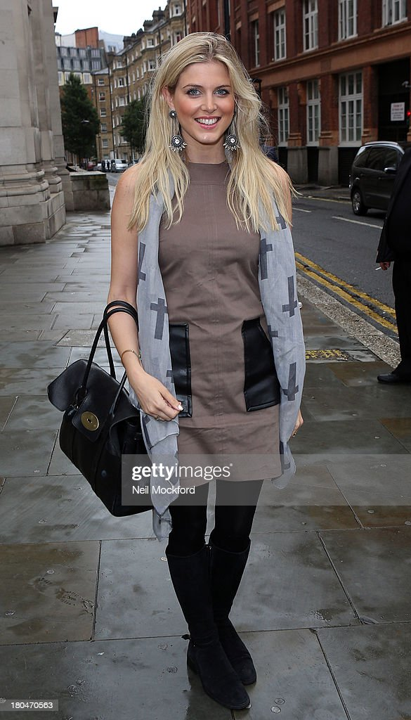 Ashley James is sighted at the Freemason's Hall on September 13, 2013 in London, England.