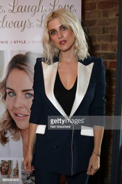 Ashley James joins Lydia Rose Bright as she celebrates the release of her new book' Live Laugh Love Always Lydia' at The Dead Dolls House in...