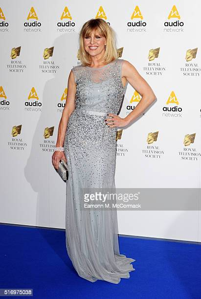 Ashley Jensen arrives for The Royal Television Society Programme Awards at The Grosvenor House Hotel on March 22 2016 in London England