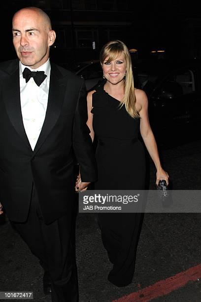 Ashley Jensen attends the after party for the Philips British Academy Television awards at Natural History Museum on June 6 2010 in London England