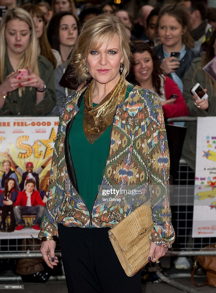 Ashley Jensen attends the UK Premiere of 'All Stars' at the Vue West End cinema on April 22, 2013 in London, England.