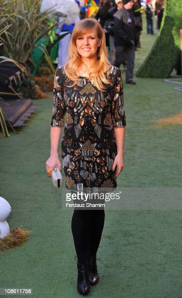 Ashley Jensen attends the UK premiere of 'Gnomeo Juliet' at Odeon Leicester Square on January 30 2011 in London England