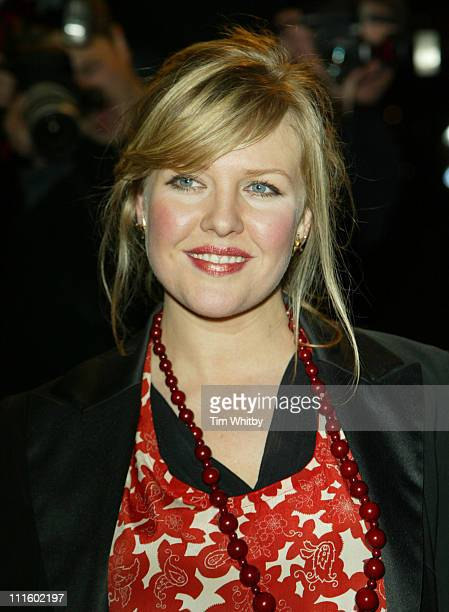 Ashley Jensen during 'A Cock and Bull Story' London Premiere Arrivals at Cineworld Cinemas in London Great Britain