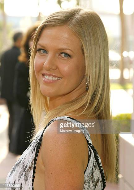 Ashley Jensen during The Academy of Television Arts Sciences Presents An Evening with 'Ugly Betty' Arrivals at Leonard H Goldenson Theatre in North...