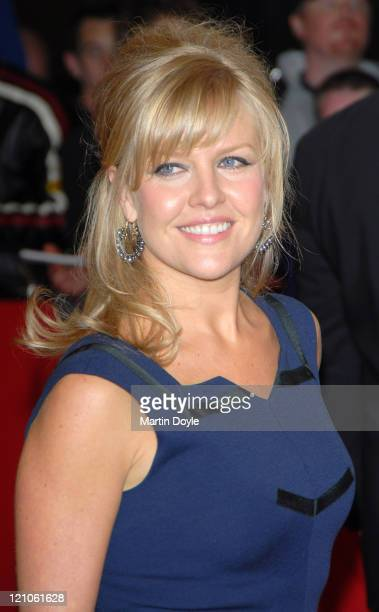 Ashley Jensen during The Greatest Britons – Red Carpet Arrivals at London Television Studios in London Great Britain
