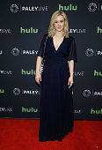 Ashley Johnson attends PaleyLive NY an evening with the cast creator of 'Blindspot' at The Paley Center for Media on April 11 2016 in New York City