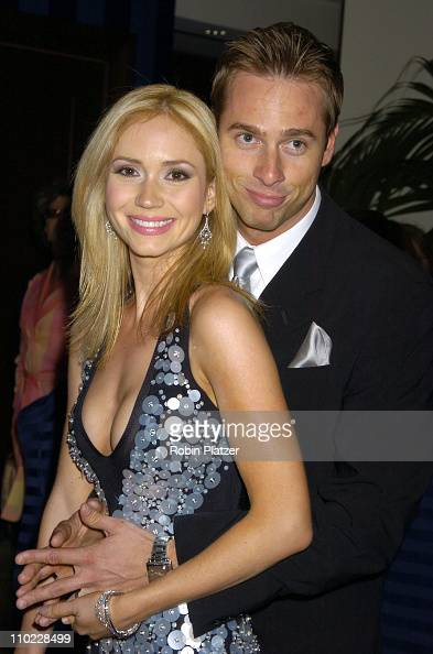 Ashley Jones and husband Noah Nelson during 32nd Annual Daytime Emmy Awards Outside Arrivals at Radio City Music Hall in New York City New York...