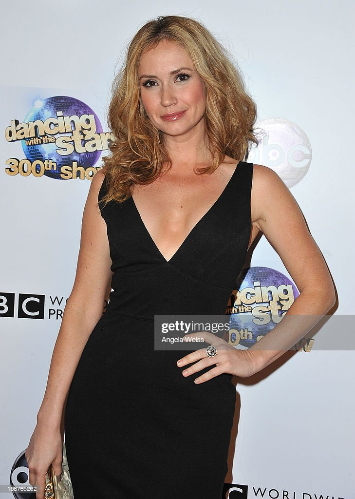 Ashley Jones arrives at ABC's 'Dancing With The Stars' 300th Episode Celebration at Boulevard3 on May 14, 2013 in Hollywood, California.