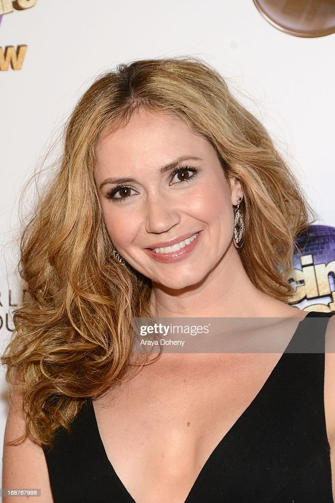 Ashley Jones arrives at the 'Dancing With The Stars' 300th episode red carpet event on May 14, 2013 in Los Angeles, California.