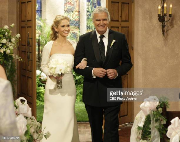BEAUTIFUL Ashley Jones as Bridget Forrester Marone and John McCook as Eric Forrester of CBSs THE BOLD AND THE BEAUTIFUL Weekdays on the CBS...