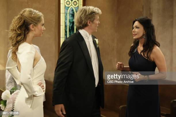 BEAUTIFUL Ashley Jones as Bridget Forrester Marone Jack Wagner as Dominick Marone and Hunter Tylo as Dr Taylor Hayes of CBSs THE BOLD AND THE...