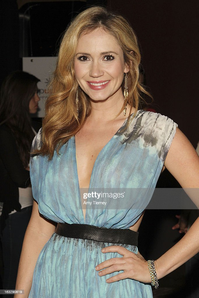 Ashley Jones at The Roxy Theatre on March 6, 2013 in West Hollywood, California.