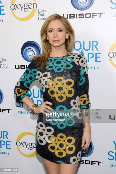 Ashley Jones attends the Jenny McCarthy 'Your Shape' Launch Party at Hyde Lounge on December 2 2009 in West Hollywood California
