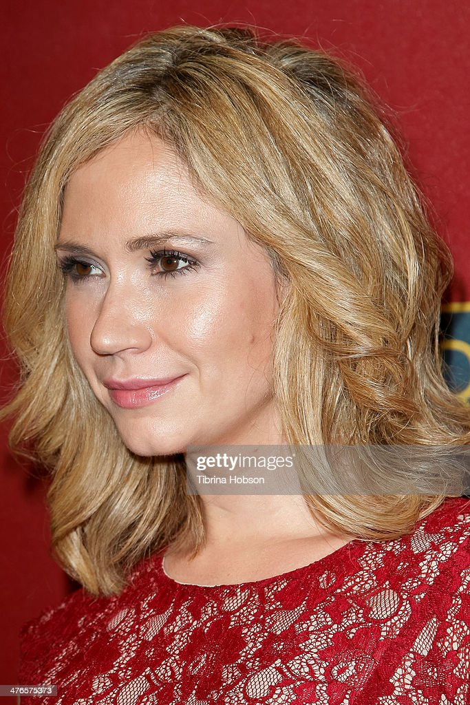 Ashley Jones attends the QVC 5th annual red carpet style event at The Four Seasons Hotel on February 28, 2014 in Beverly Hills, California.