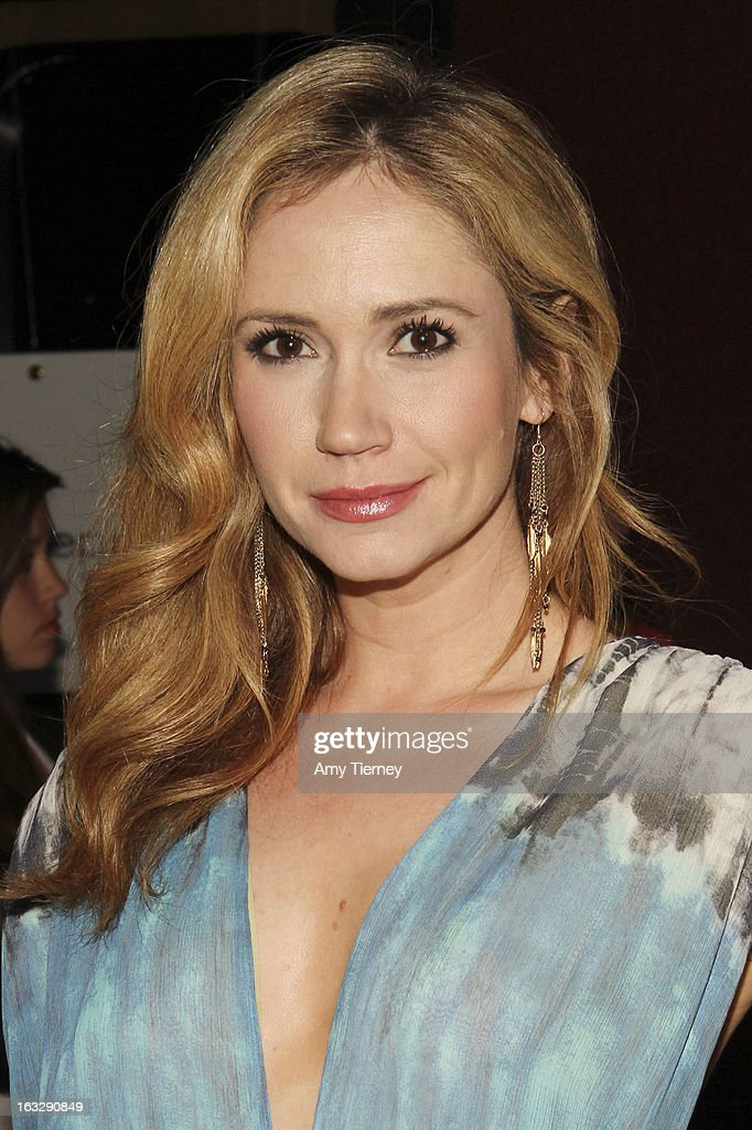 Ashley Jones attends the Step Up Women's Network Women Who Rock Event at The Roxy Theatre on March 6, 2013 in West Hollywood, California.