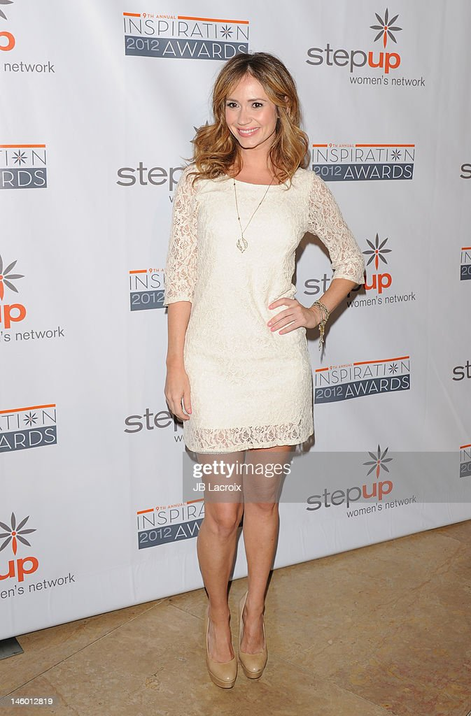 Ashley Jones attends the StepUp Women's Network 9th Annual Inspiration Awards at The Beverly Hilton Hotel on June 8, 2012 in Beverly Hills, California.