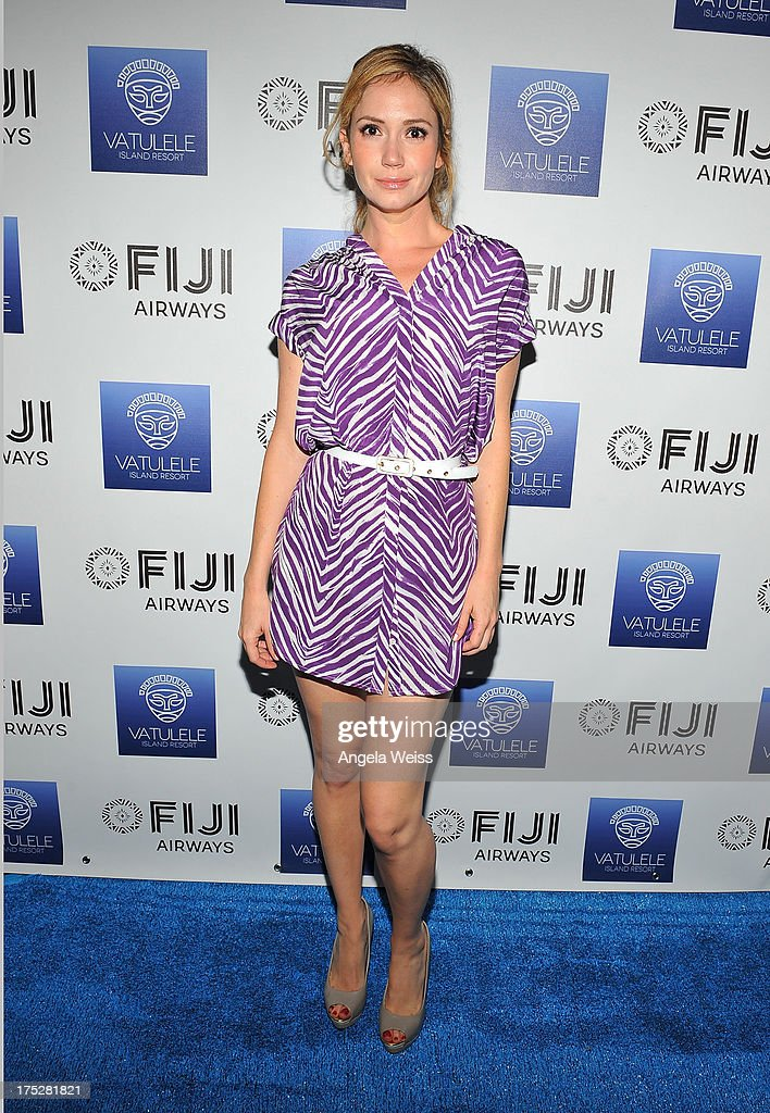<a gi-track='captionPersonalityLinkClicked' href=/galleries/search?phrase=Ashley+Jones&family=editorial&specificpeople=226927 ng-click='$event.stopPropagation()'>Ashley Jones</a> attends the Vatulele Island Resort launch event in Los Angeles, California, on July 31, 2013 in Los Angeles, California.